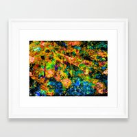 chandelier Framed Art Prints featuring Chandelier by Peta Herbert