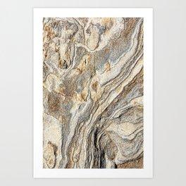 Concrete Texture Art Print