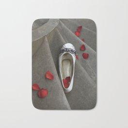 wedding shoes Bath Mat