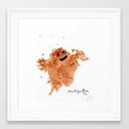 Lil' Yeti Framed Art Print