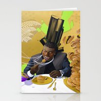 gucci Stationery Cards featuring Gucci Mane by Karlyfries Studios