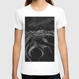 Riding a fish T-shirt