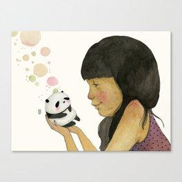 I adore you, baby Canvas Print