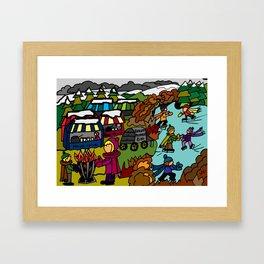 MEMORIES OF WINTER Framed Art Print