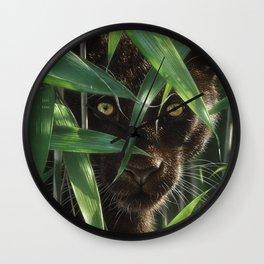 Black Panther - Wild Eyes Wall Clock