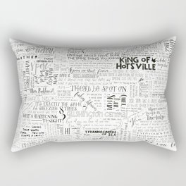 Dear Diary... Rectangular Pillow