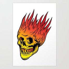 Sweet fire Art Print