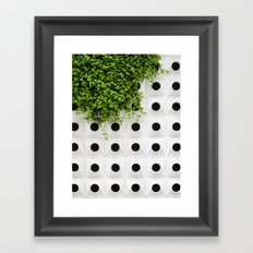 Nature and Structure Framed Art Print