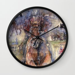 Way to victory Wall Clock