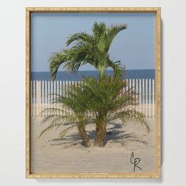 Jersey Palm Trees  Serving Tray
