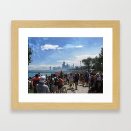 Chicago Air Show Framed Art Print