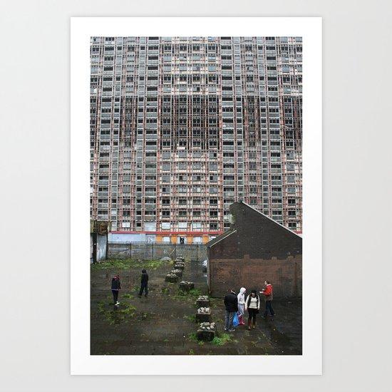 Glasgow Scotland Art Print