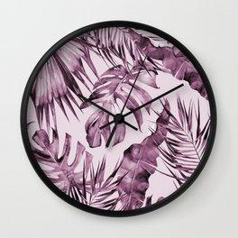 TROPICAL GARDEN 3 Wall Clock