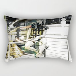 Life is But a Cage Rectangular Pillow