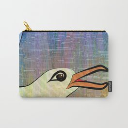 On the Cliffs with Jonathan Livingston Seagull Carry-All Pouch