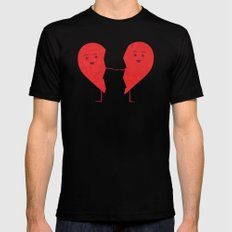 The Course of Love Mens Fitted Tee MEDIUM Black