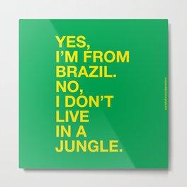 From Brazil III Metal Print