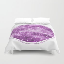 Northern Stars Rose Duvet Cover
