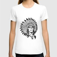 headdress T-shirts featuring Headdress by Gregg Deal