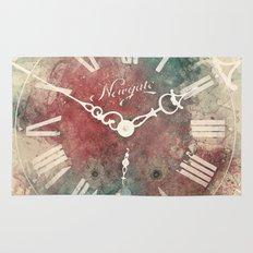 Old Clock Rug