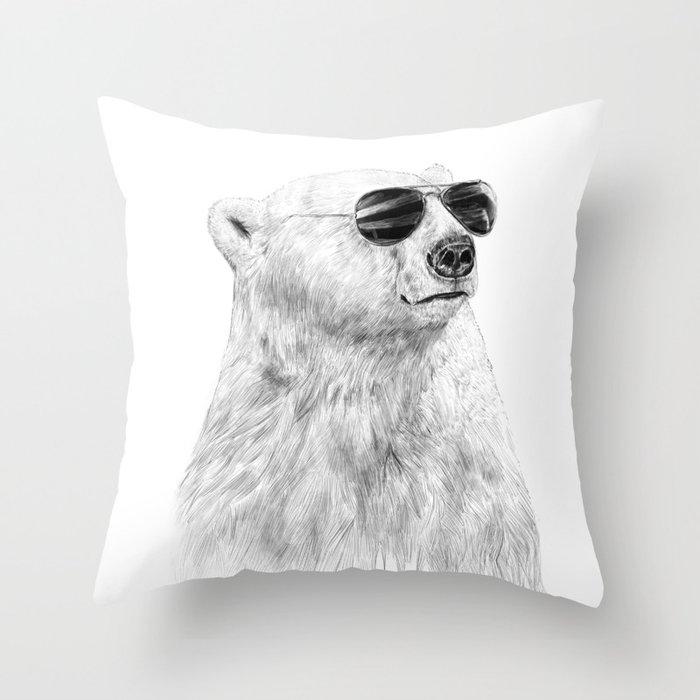 Don't let the sun go down Throw Pillow