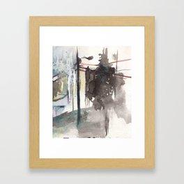 Brighton Streetlamp Framed Art Print