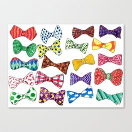Snobby Children's Bows Canvas Print