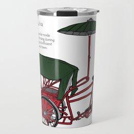 Penang Trishaw Travel Mug