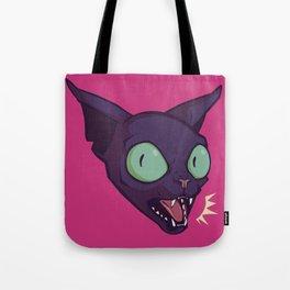 Mad Cat Tote Bag