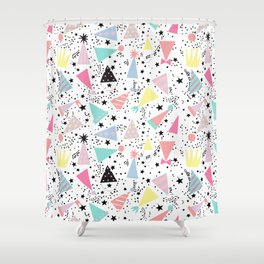 Bonetes Shower Curtain