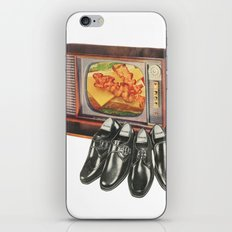 Shop while you eat iPhone & iPod Skin