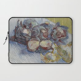 Red Cabbages and Onions Laptop Sleeve
