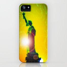 Statue of liberty - Freiheitsstatue New York 10 iPhone Case