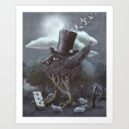 The Magician's Hat  Art Print