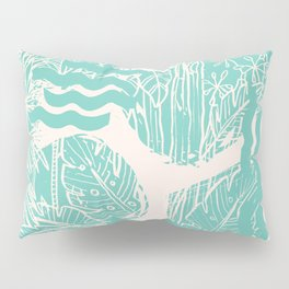 Jungle Green Pillow Sham