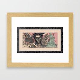 xmen Framed Art Print