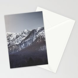 Snowy Mountain Range Stationery Cards