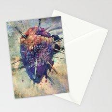 Damaged Heart Stationery Cards