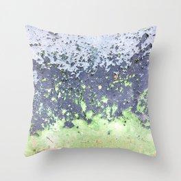 Wabi-sabi rusty sheet Throw Pillow