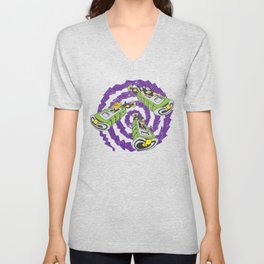 Tentacle Traveling Unisex V-Neck