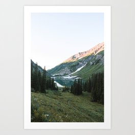 Emerald Lake Sunrise Art Print
