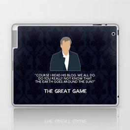 The Great Game - Greg Lestrade Laptop & iPad Skin