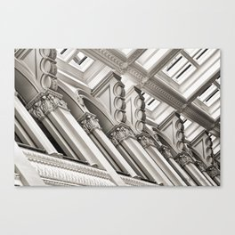 Landmark Toppers Canvas Print