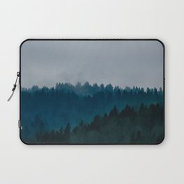 Blue Fog Laptop Sleeve