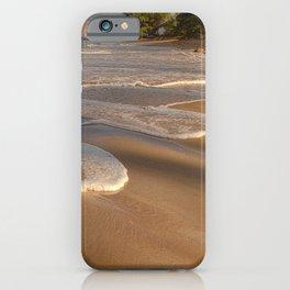 Gentle Waves on Beach iPhone Case