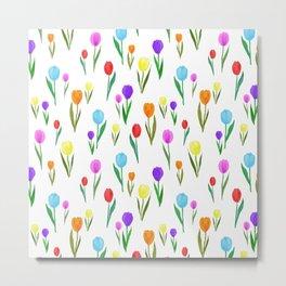 candy tulip Metal Print