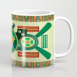 Native American Folk Art Turtle Coffee Mug