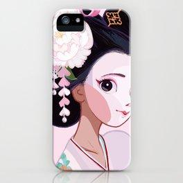 Maiko Cutie iPhone Case