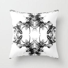 Exponential Growth Throw Pillow