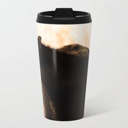 Moo'n around Metal Travel Mug